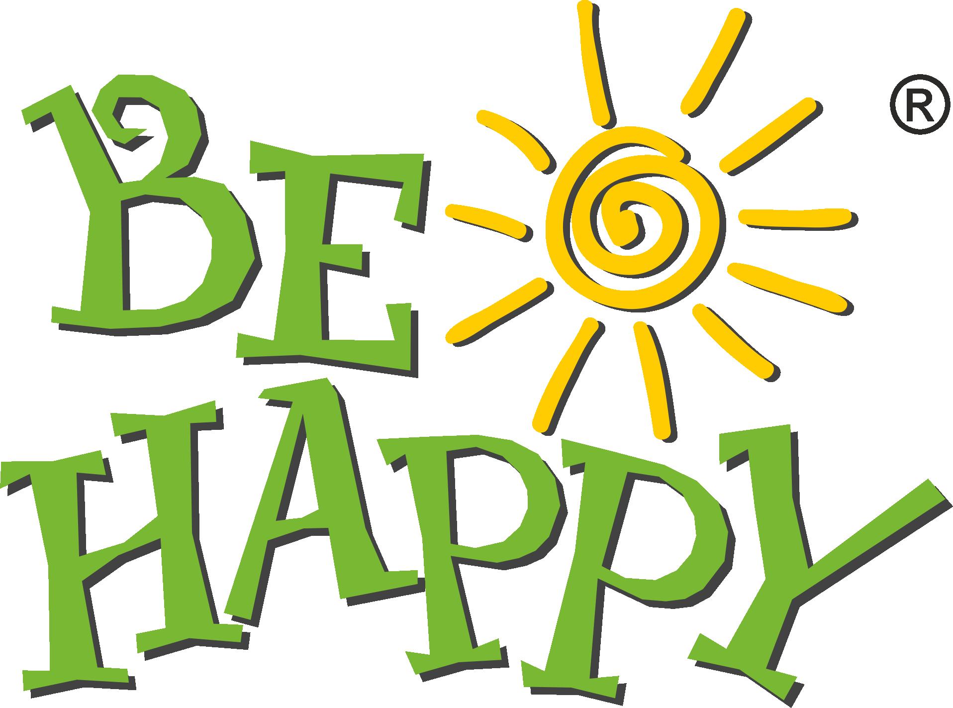 Kristallherz - Be Happy - Personalisierte Geschenke Großhandel